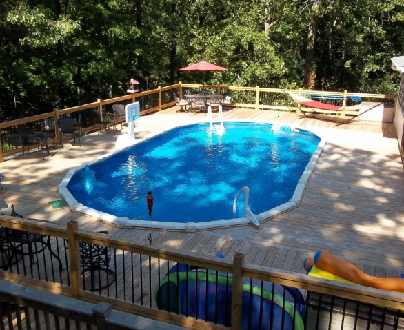 Casual patio pools more for Pool dealers